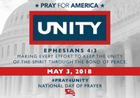 Kairos Prison Ministry is Participating in National Prayer Day