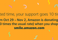 AmazonSmile Promotion Donates 5% to Kairos Prison Ministry from Oct 29 – Nov 2