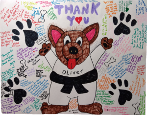 Oliver Lytle Thank You Poster