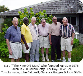 Six of the Remaining Nine Old Men Who Founded Kairos Prison Ministry