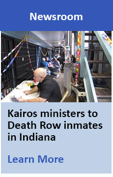 Kairos ministers to Death Row inmates in Indiana
